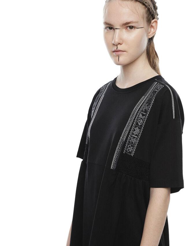Diesel - DIPLIX, Black - Dresses - Image 3