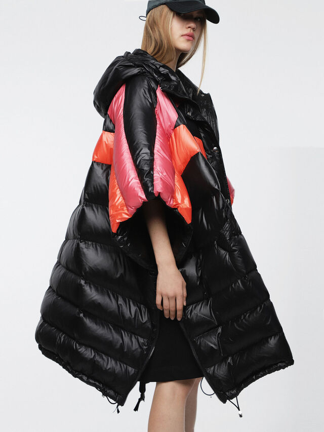 Diesel - W-MOSA, Multicolor/Black - Winter Jackets - Image 3