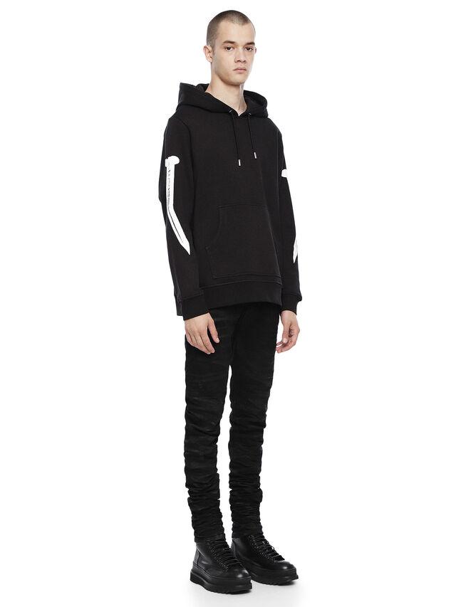 Diesel - SNEILBOOD-NAILS, Black - Sweatshirts - Image 4