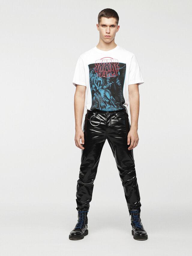 Diesel - P-MHARKY, Black Leather - Pants - Image 6