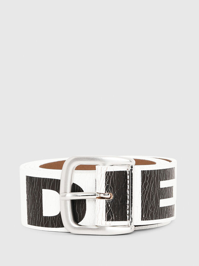 Diesel - B-ARBARANO, White/Black - Belts - Image 1