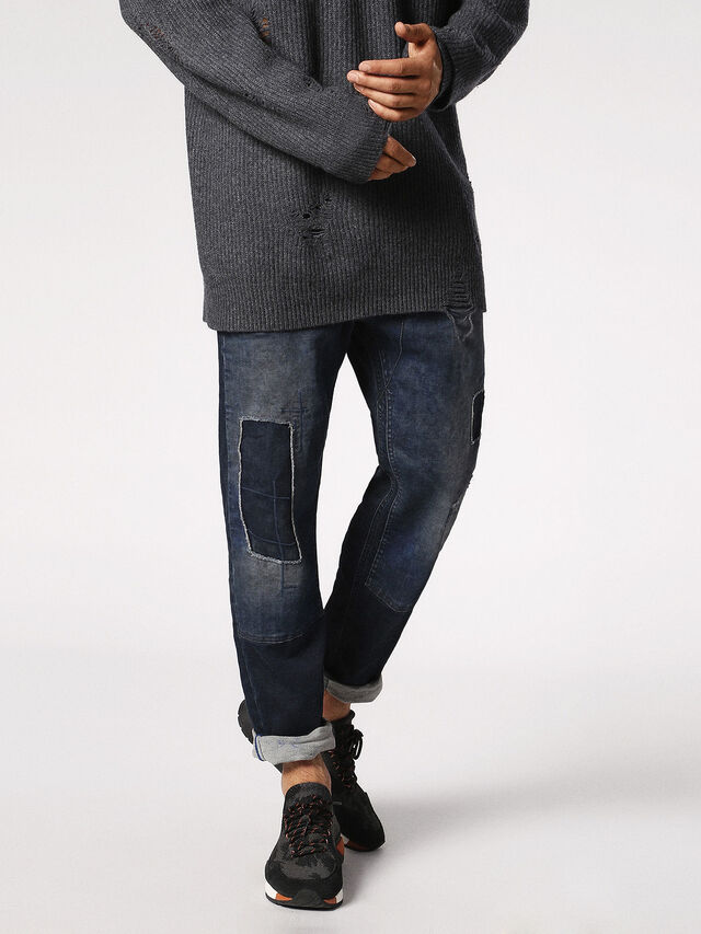Diesel - Narrot JoggJeans 0685M, Dark Blue - Jeans - Image 1