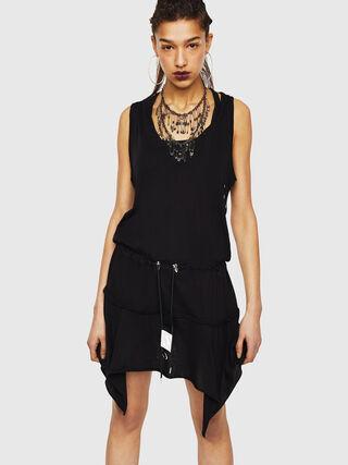 15fa19b2624 Jersey dress with asymmetrical hem
