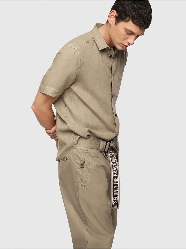 Diesel - P-TOSHI, Dark Beige - Pants - Image 3