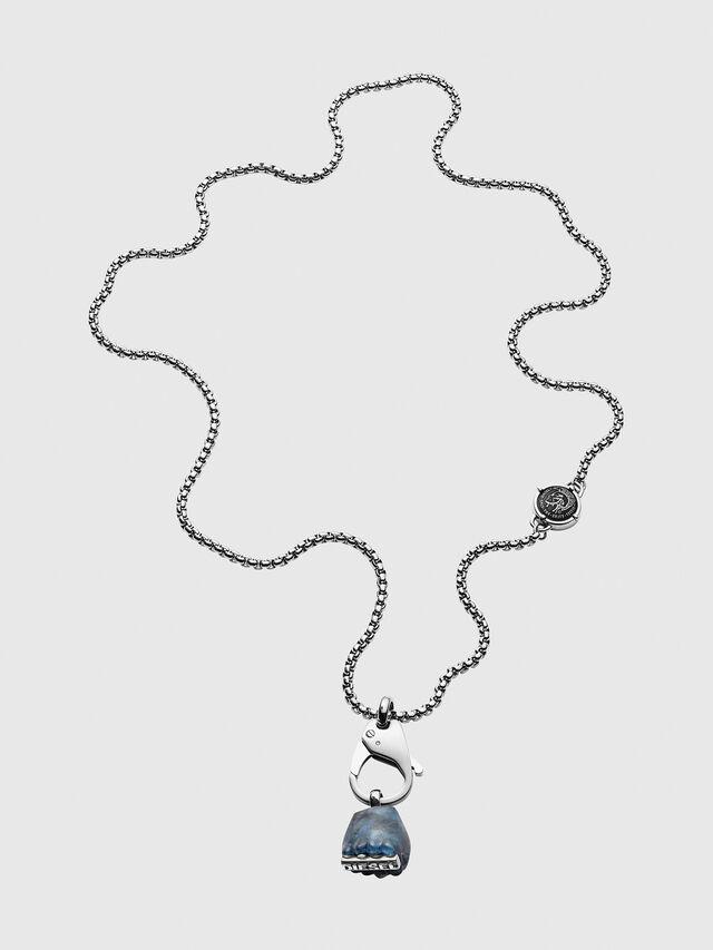 Diesel - DX1178, Silver - Necklaces - Image 1