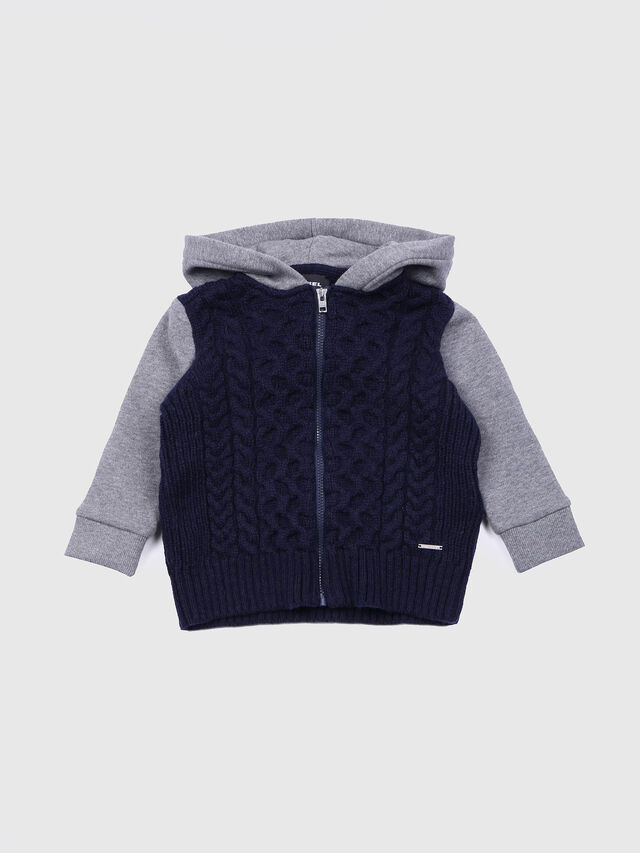 Diesel - KERKEB, Blue/Grey - Sweaters - Image 1