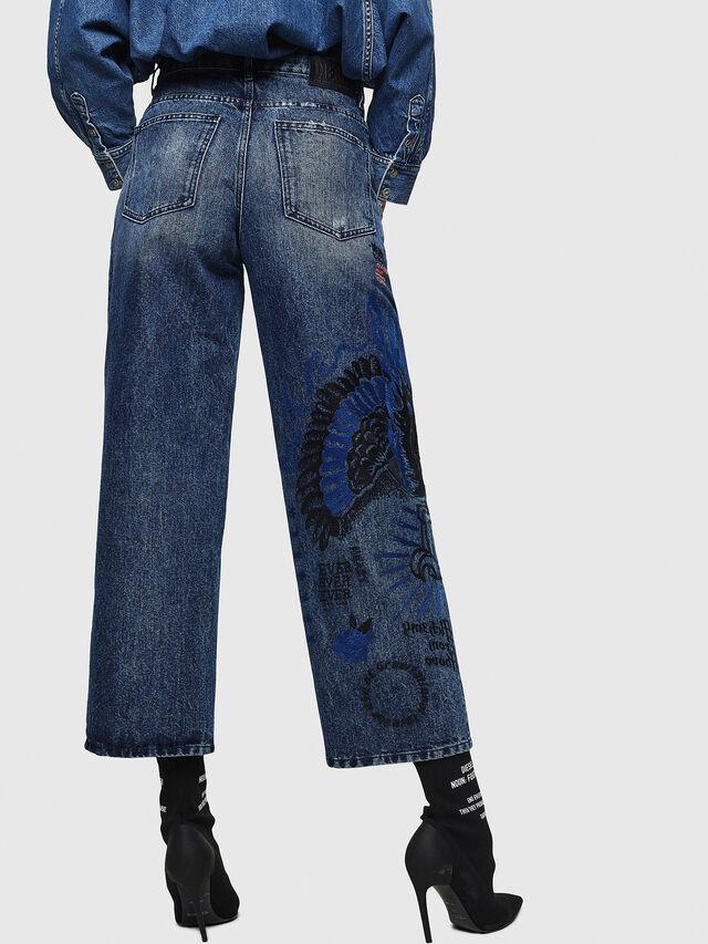 Diesel - Widee 0092Z, Medium Blue - Jeans - Image 2