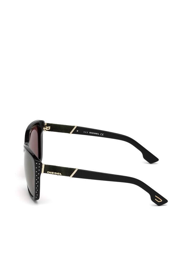 Diesel DM0089, Black - Eyewear - Image 4