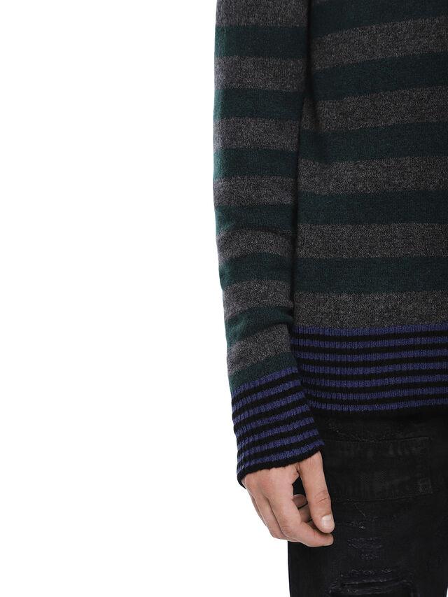 Diesel - KARCE-HOOD, Green - Sweaters - Image 5
