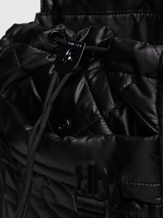 Diesel - NYDUVET BACKPACK, Black - Backpacks - Image 3