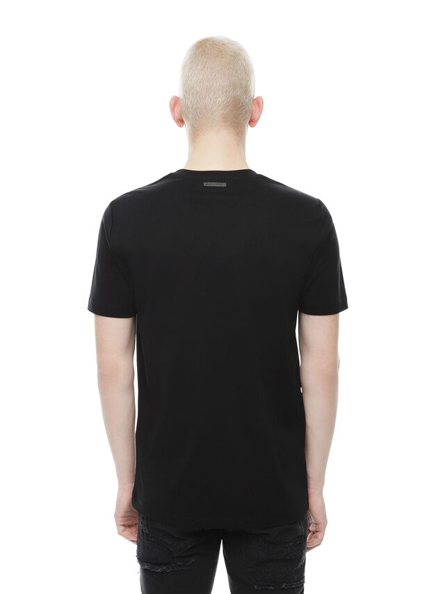 Ty Cactus Men T Shirt With Cactus Patch Diesel