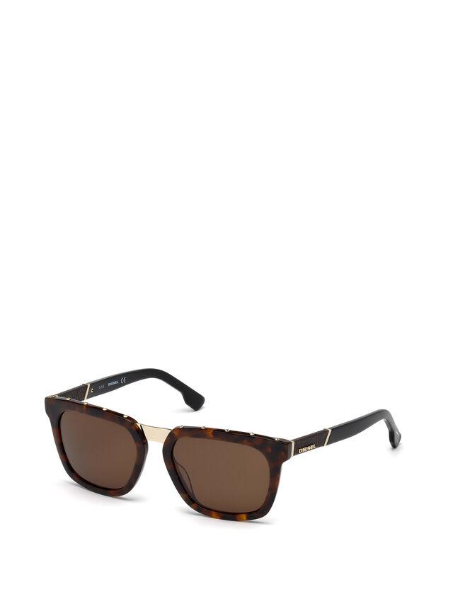 Diesel - DL0212, Brown - Sunglasses - Image 4
