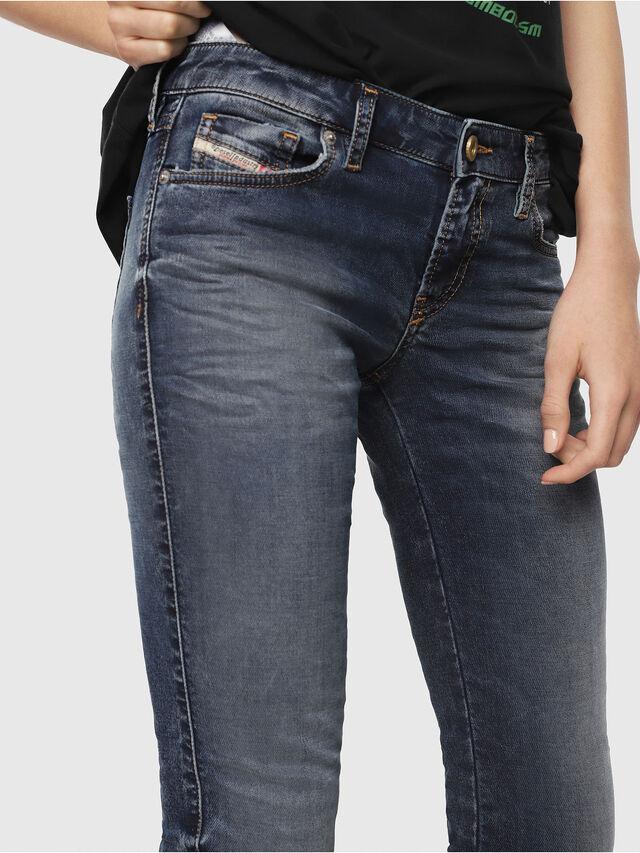 Diesel - Gracey JoggJeans 069FG, Medium Blue - Jeans - Image 3