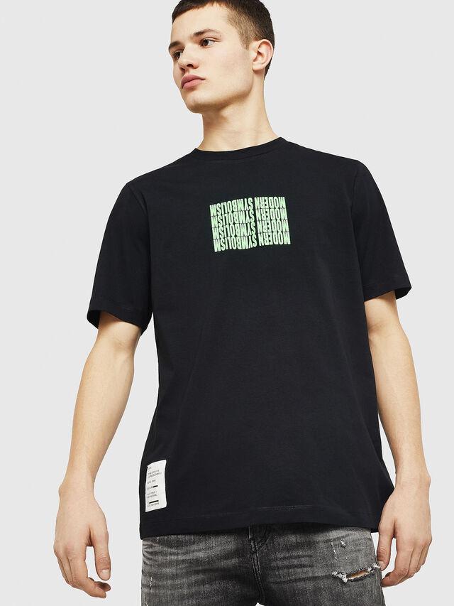 Diesel - T-JUST-Y11, Black - T-Shirts - Image 1