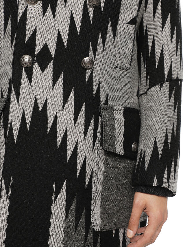 Diesel - JENERAL, Black/Grey - Jackets - Image 5