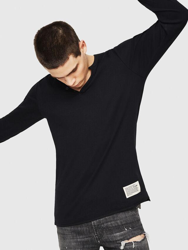 Diesel - T-YOICHIROKI, Black - T-Shirts - Image 4