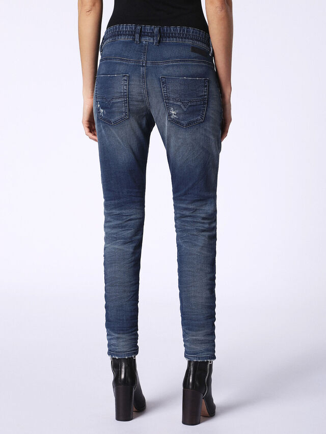 Diesel - Krailey JoggJeans 069CB, Dark Blue - Jeans - Image 3