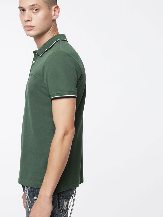 Diesel - T-RANDY-BROKEN, Military Green - Polos - Image 3