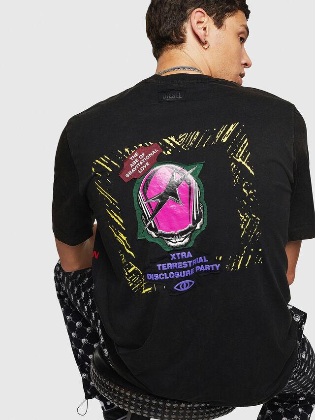 Diesel - T-JUST-B30, Black - T-Shirts - Image 2