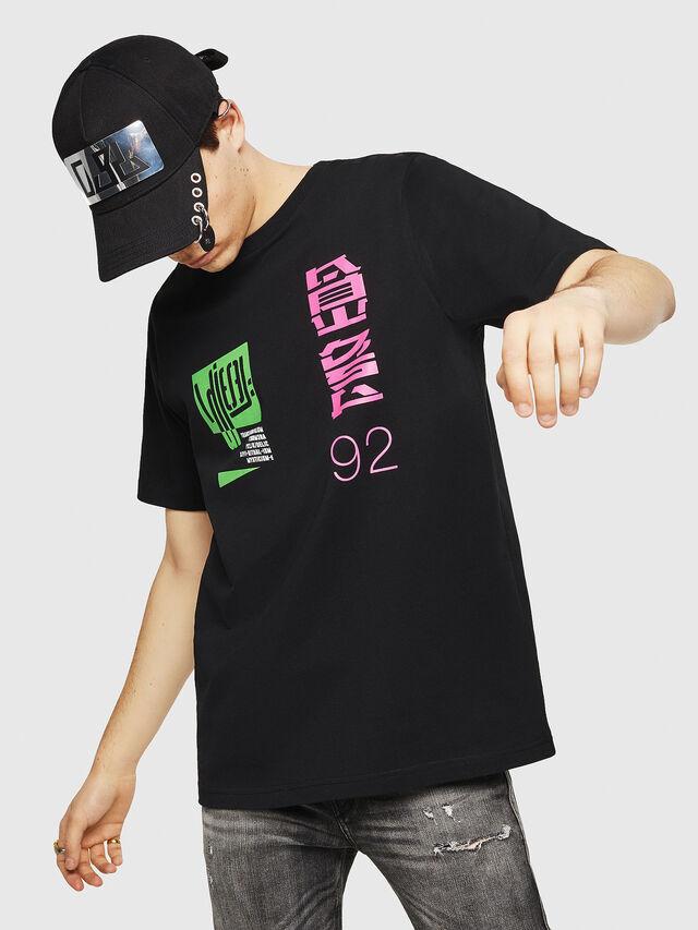 Diesel - T-JUST-Y20, Black - T-Shirts - Image 1