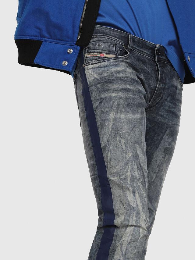 Diesel - Sleenker 069DH, Dark Blue - Jeans - Image 3