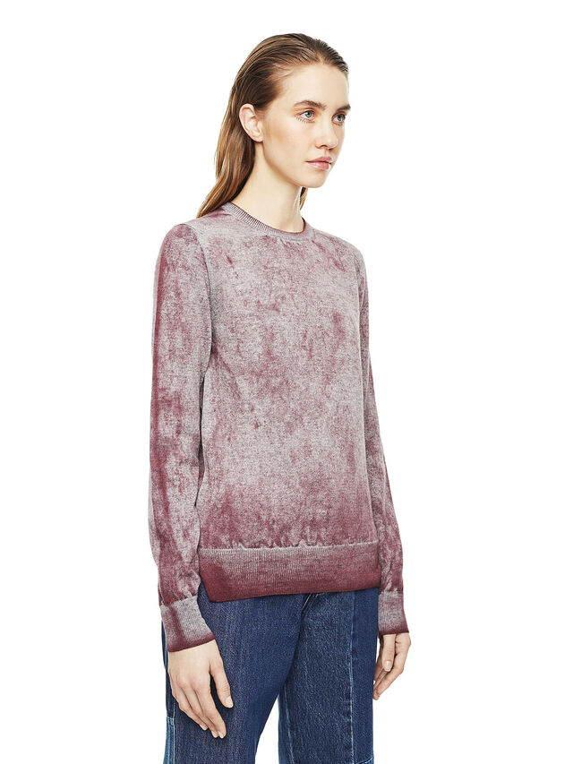 Diesel - MESULF, White/Red - Sweaters - Image 4