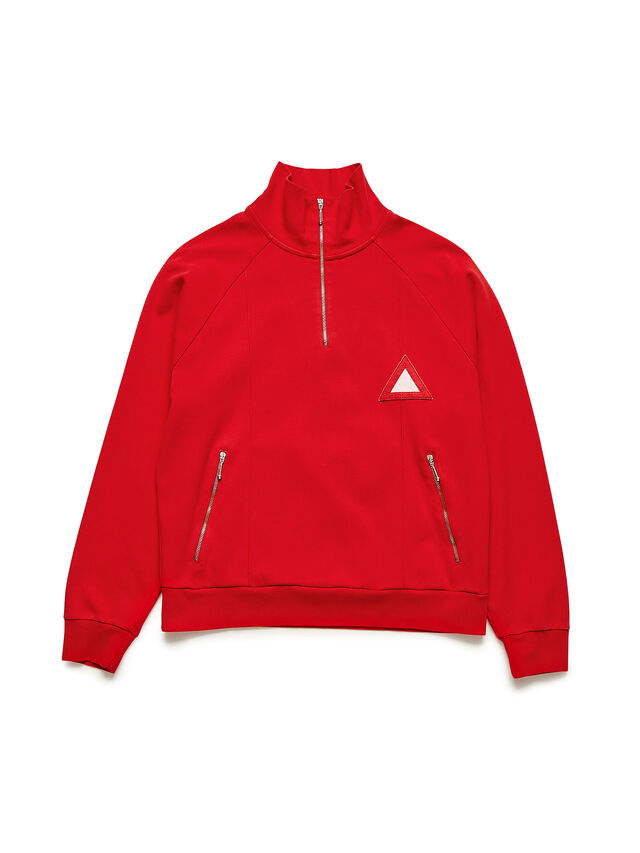 Diesel - GR02-J302, Red - Sweatshirts - Image 1
