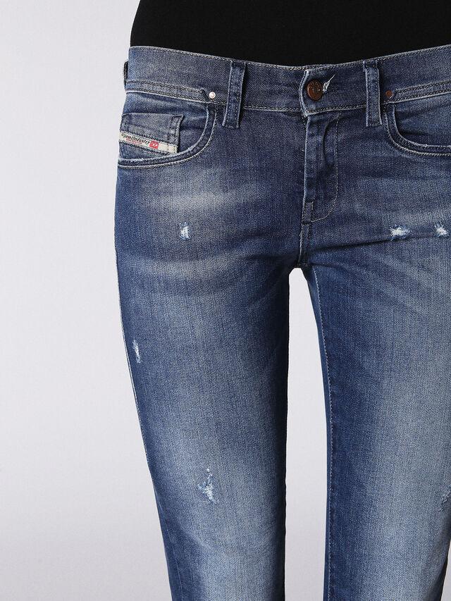 Diesel - LOWLEEH 084KY, Blue jeans - Jeans - Image 4