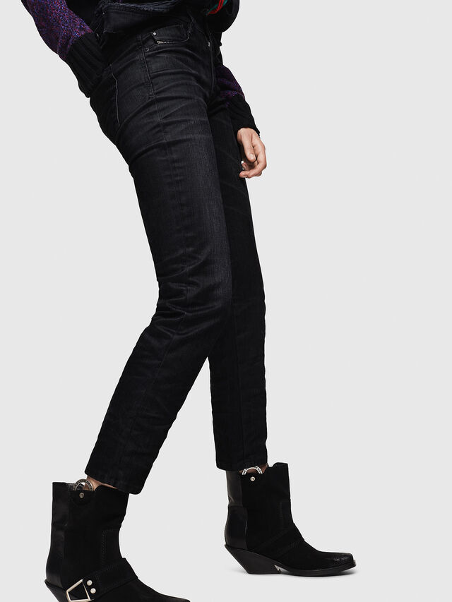 Diesel - D-Rifty 0091I, Black/Dark Grey - Jeans - Image 6