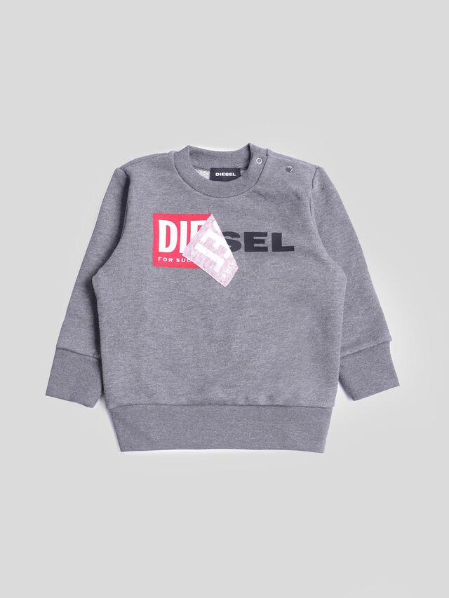 Diesel - SALLIB, Grey - Sweatshirts - Image 1