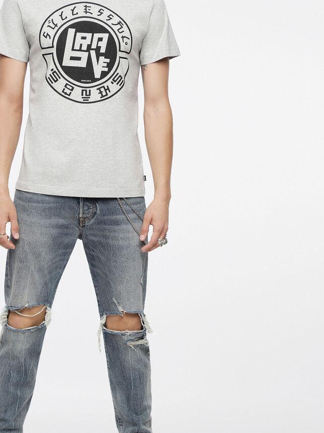 Diesel - T-DIEGO-XC, Light Melange - T-Shirts - Image 3