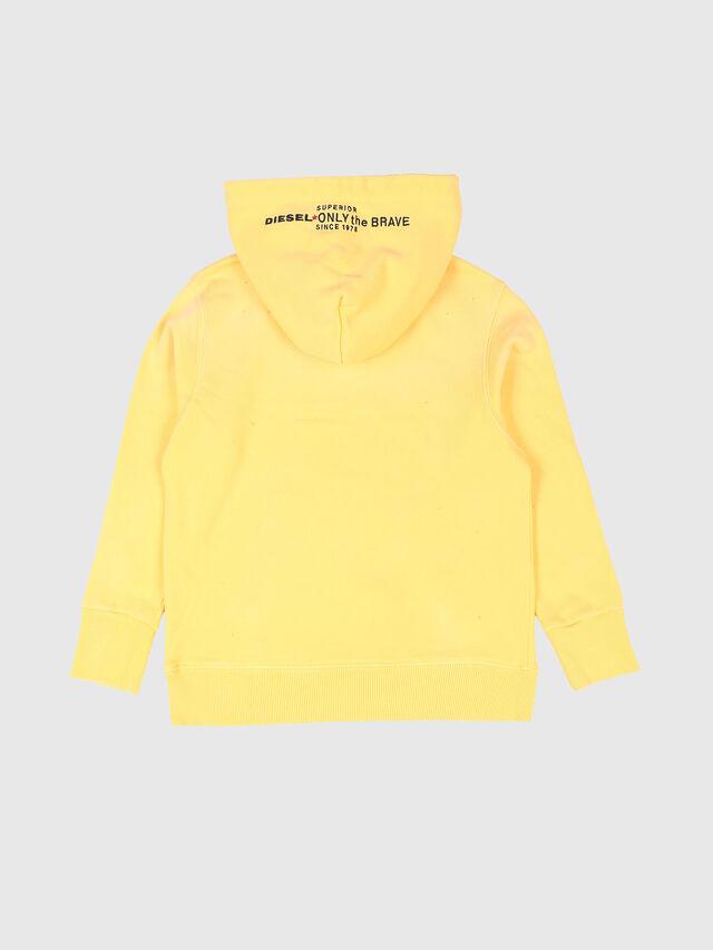 Diesel - SPALMS OVER, Light Yellow - Sweatshirts - Image 2