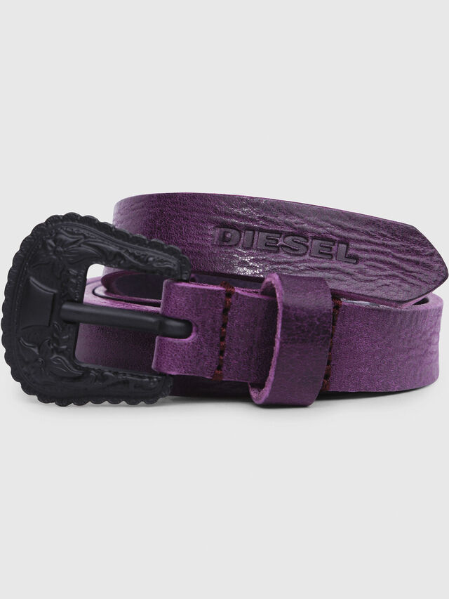 Diesel - B-TEXY, Violet - Belts - Image 2