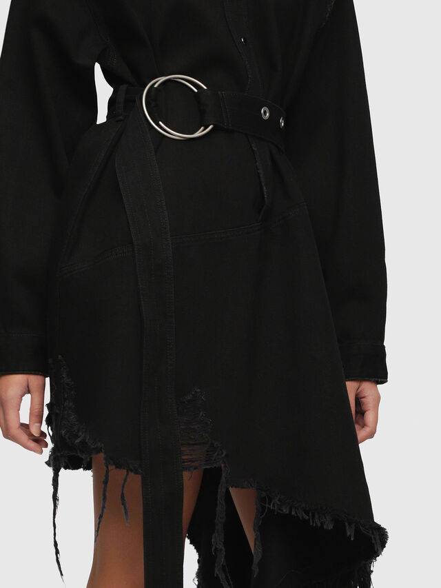 Diesel - DE-PEONY, Black - Dresses - Image 4