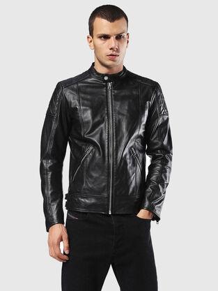 Mens Jackets Denim Leather Diesel Online Store