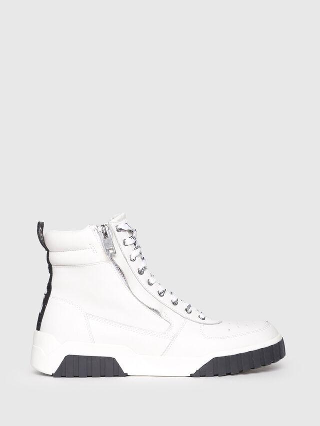 Diesel - S-RUA MC, White - Sneakers - Image 1