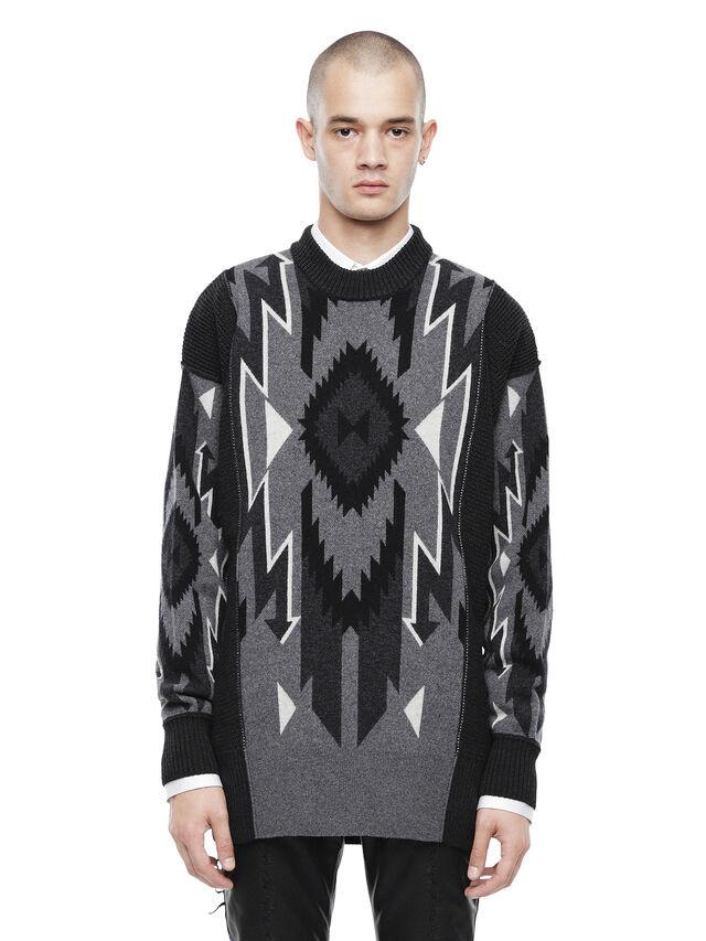 Diesel - KAVAJO, Black - Sweaters - Image 1