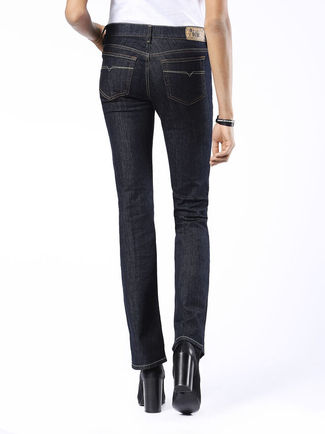 BOOTZEE-ST 0881K, Dark denim, Jeans