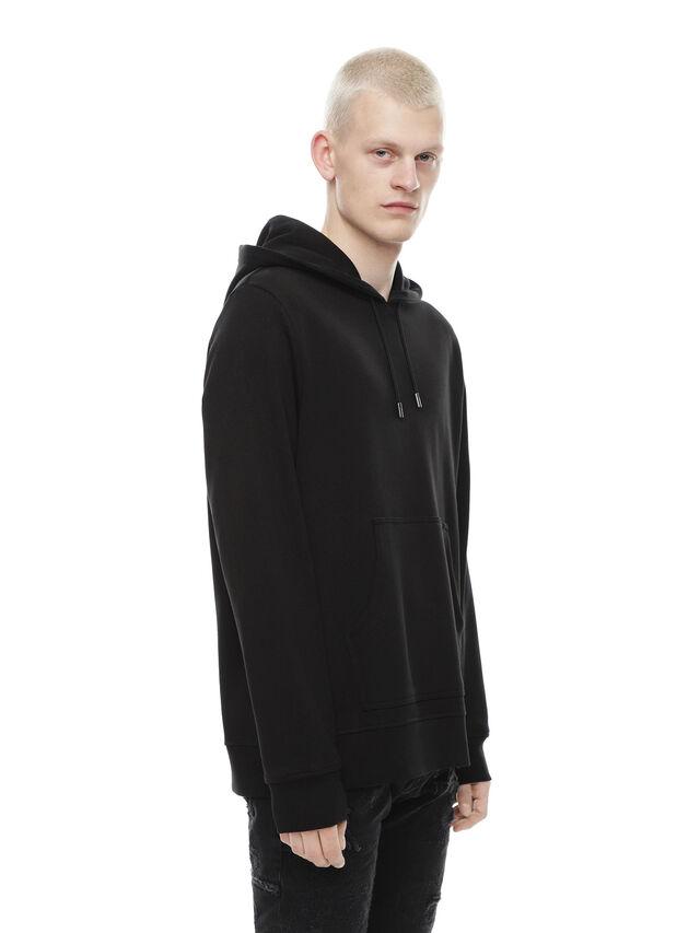 Diesel - SNEILBOOD-PATCHWORK, Black - Sweatshirts - Image 3