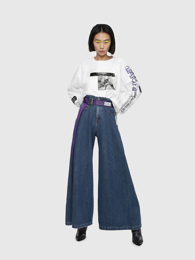 Diesel - D-Izzier 080AQ, Medium Blue - Jeans - Image 5