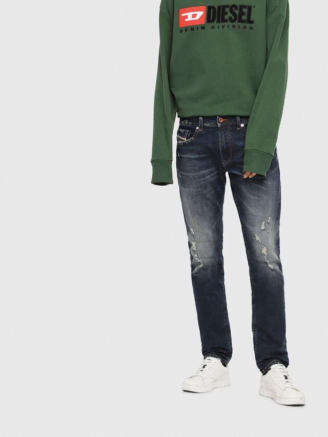 Diesel - Thommer 084YY, Dark Blue - Jeans - Image 1