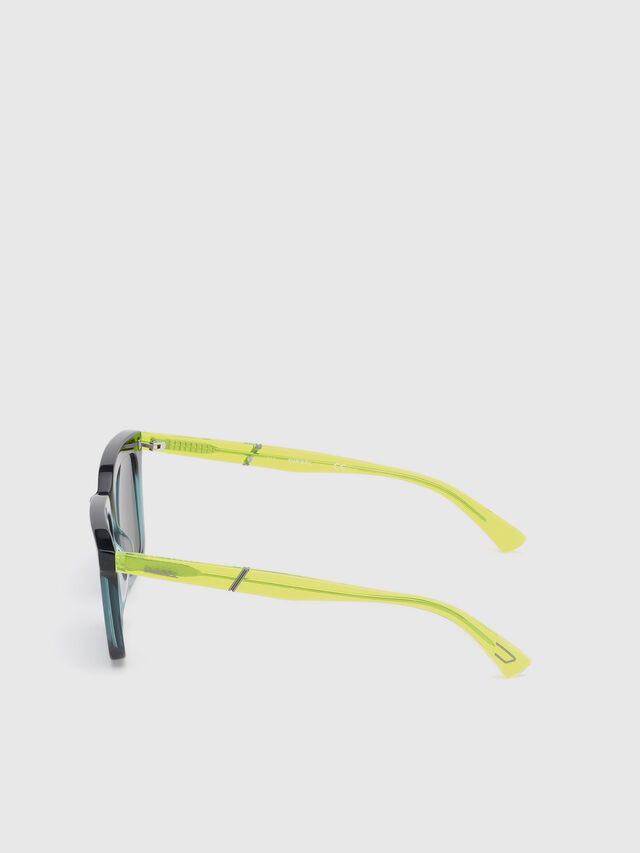 Diesel - DL0284, Blue/Yellow - Sunglasses - Image 3