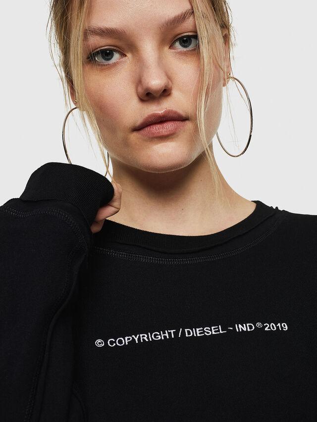 Diesel - F-LYANY-F, Black - Sweatshirts - Image 5