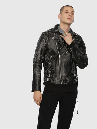 a9cf4439c4 Mens Leather Jackets | Diesel Online Store