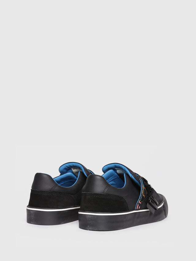 Diesel - S-FLIP LOW BUCKLE W, Black - Sneakers - Image 3
