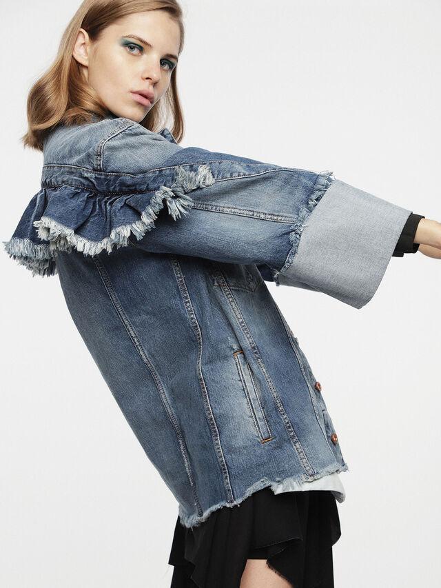 Diesel - DE-VISEMAC, Blue Jeans - Denim Jackets - Image 3