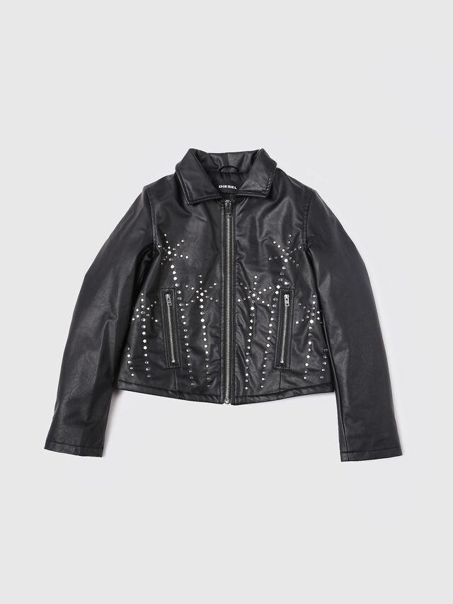 Diesel - JAXEL, Black Leather - Jackets - Image 1