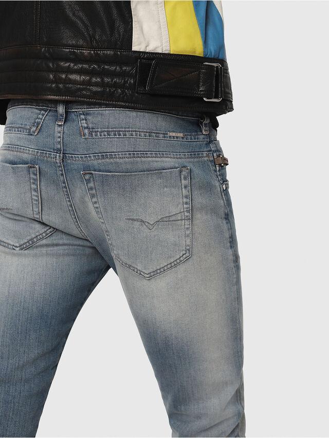 Diesel - D-Bazer 081AP, Light Blue - Jeans - Image 4