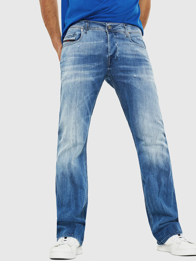 Diesel - Zatiny 081AS, Medium Blue - Jeans - Image 1