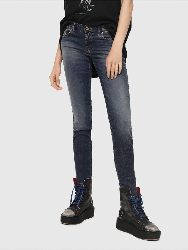 Diesel - Gracey JoggJeans 069FG, Medium Blue - Jeans - Image 1